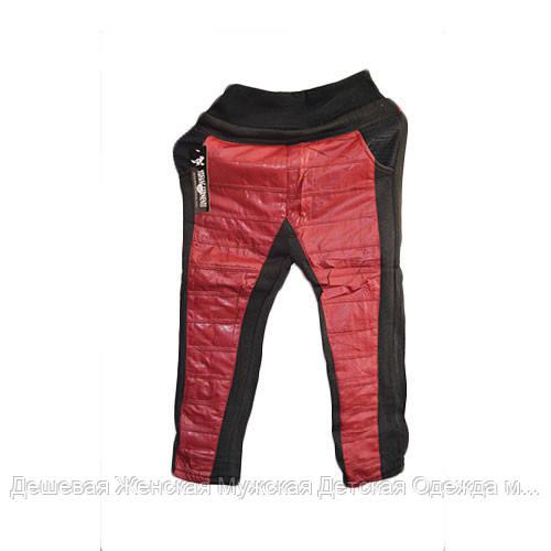 Модные детские штаны утепленные