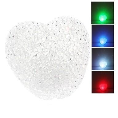 Светильник сердце кристальное (crystal)