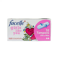 Facelle girls like you Tampons - Женские тампоны две капли