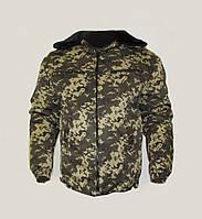 БУШЛАТ! Куртка камуфлированная. Утеплённая. Цифра пограничная. Украина, фото 1