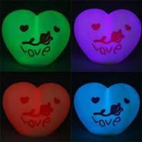 Светящиеся LED Сердце(светится разными цветами)