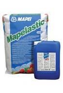 Двухкомпонентная  эластичная Гидроизоляция на цементной основе Mapei MAPELASTIC (компонент А: 24 кг, компонент Б: 8 кг), фото 2