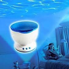 Проектор волн океана (светодиодный ночник)