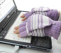 Перчатки с подогревом USB женские