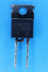 Диод HFA08TB120 (8A; 1200V;) TO220AC