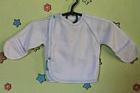 Распашонка  на кнопках для малыша, махра р.20