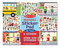 Набор многоразовых наклеек,стикеры Melissa & Doug