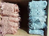 Фурнитура швейная пришивная гипюровая брендовая