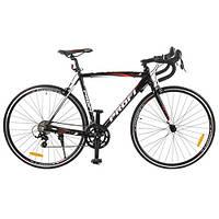 Шоссейный велосипед 28дюймов G53 CITY A700C-1 ЧЁРНЫЙ 2017