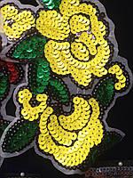 Фурнитура швейная брендовая, нашивки с пайетками брендовая, Узоры, фото 1