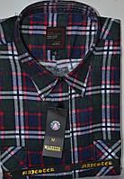 Мужская байковая (фланелевая) рубашка ( 42. 44 размерьі)