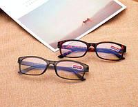 Очки для чтения черные коричневые