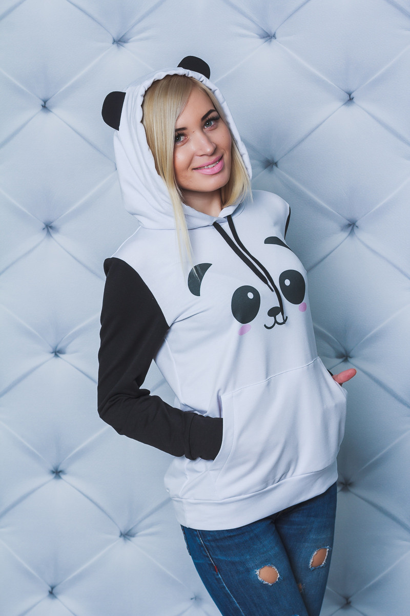 Толстовка женская Панда