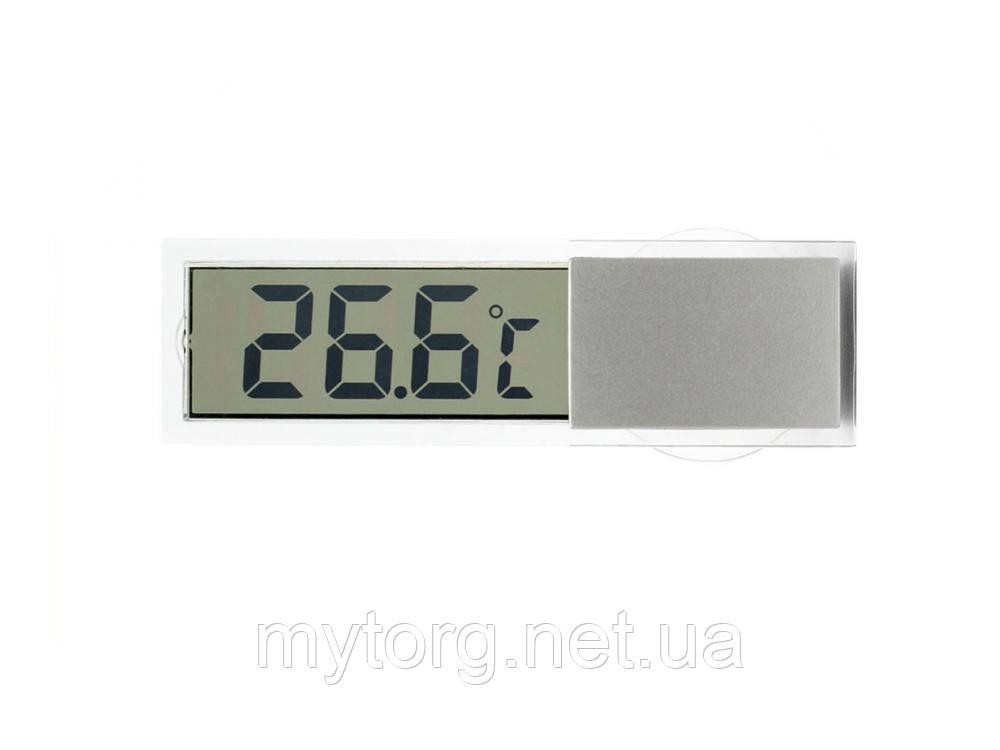 Товар имеет дефект Прозрачный термометр для автомобиля на присоске Уценка №329 Уценка!
