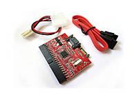 Двусторонний Переходник SATA -IDE или IDE - SATA Уценка №328 Уценка! Красный