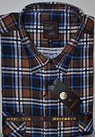 Мужская байковая (фланелевая) рубашка ( размеры 43,44,45,46)