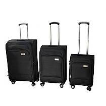 Набор чемоданов 3 шт. (черный)