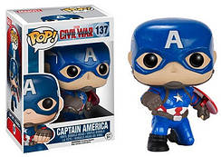 Коллекционные фигурки Фанко Поп Funko Pop Капитан Америка Captain America