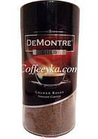 Кофе растворимый DEMONTRE GOLD 200 г с/б.
