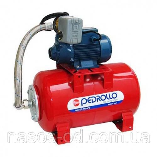 Насосная станция гидрофор Pedrollo PKm 60 для воды 0.37кВт Hmax38м Qmax32л/мин (насос вихревой) 24л