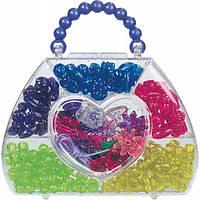 Сумка, бусины, набор для творчества, коробка в форме сумочки, LENA