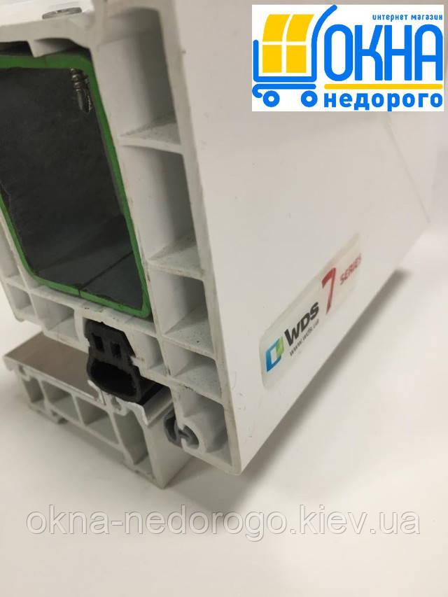 Входные пластиковые двери WDS 7 Series
