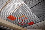 Пирамидальное грильято потолок,  ячейка 60х60 мм , цвет белый RAL 9003, фото 2