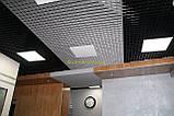 Пирамидальное грильято потолок,  ячейка 60х60 мм , цвет белый RAL 9003, фото 6