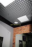 Пирамидальное грильято потолок,  ячейка 60х60 мм , цвет белый RAL 9003, фото 8