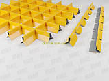 Пирамидальное грильято потолок,  ячейка 60х60 мм , цвет белый RAL 9003, фото 10