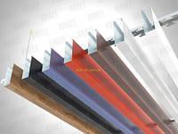 Кубообразная рейка ширина профиля 35 мм белый/серый/черный высота -55 мм