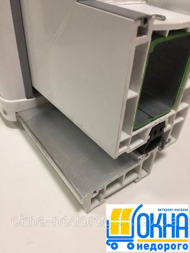 Пластикові вхідні двері в профілі WDS 7 series