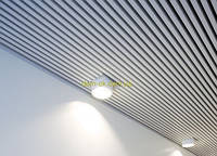 Кубообразная рейка ширина профиля 88 мм белый/серый/черный высота- 45 мм