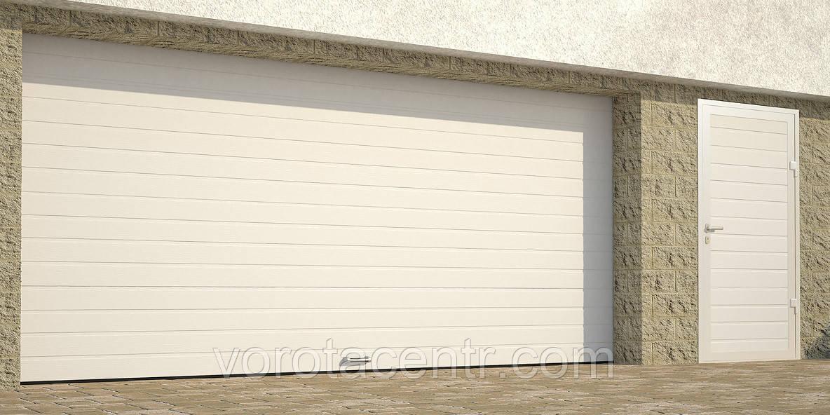 Автоматичні секційні гаражні ворота RSD02 4700х2200 DoorHan