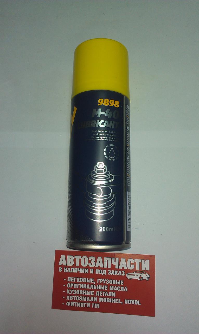 Смазка универсальная (WD-40) M-40 Mannol 200 мл.