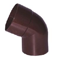 Коліно 60 градусів d75. мм. Водостічна система Profil.