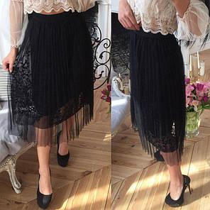 Модная летняя фатиновая юбка, фото 2