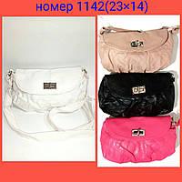 Детская лаковая сумочка через плечо 23х14 см