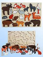 """Познавательный набор """"Лесные звери"""", фото 1"""