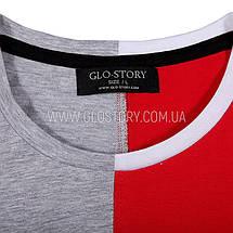 Мужская футболка Glo-story, Два цвета , фото 2