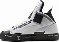 Кроссовки мужские Puma Court Play x UEG код товара KD-11290. Черные
