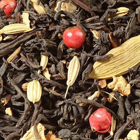"""Чорний ароматизований чай """"Спайсі"""""""