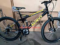 Горный велосипед Azimut Race 26 GD черно-желтый