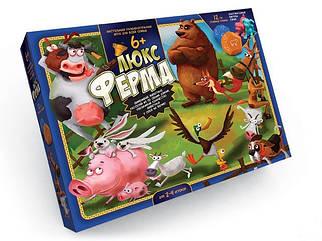 Игра настольная Danko Toys Ферма ЛЮКС большая (Рус) (G-FL-01-01)