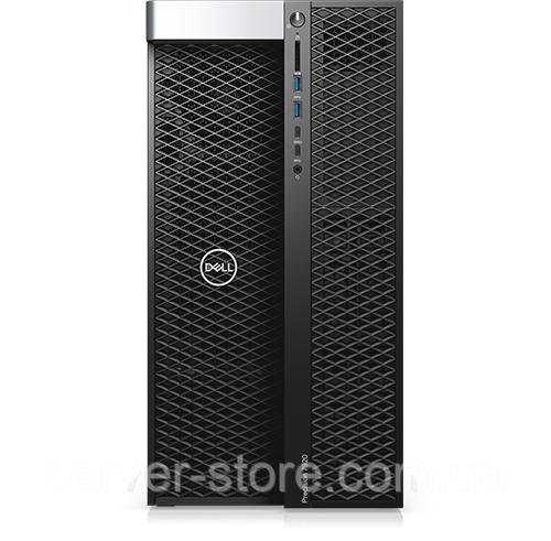 Dell Precision 7920 Tower Intel Xeon Silver 4112 2.6GHz, 3.0GHz Turbo, 4C, 9.6GT/s 2UPI, 8.25M Cache, HT (85W) DDR4-2400, 16GB (2x8GB) 2666MHz DDR4