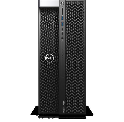 Dell Precision 7820 Tower Intel Xeon Bronze 3106 1.7GHz, 8C, 9.6GT/s, 11M Cache, No Turbo, No HT (85W) DDR4-2133, 16GB (2x8GB) 2666MHz DDR4 RDIMM ECC,