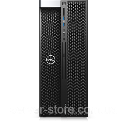 Dell Precision 7820 Tower Intel Xeon Gold 6152 2.1GHz, 3.7GHz Turbo 22C, 10.4GT/s 3UPI, 30M Cache, HT (140W) DDR4-2666, 16GB (2x8GB) 2666MHz DDR4