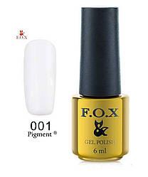 FOX GOLD PIGMENT 001 6ML