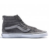 "Кеды Madness x Vans SK8-MID ""Dirty Grey"" Арт. 2133 реплика"
