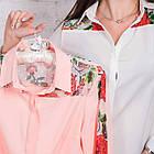 Женская блуза с вышивкой весна-лето 2018 - розочки - (код бл-161), фото 8